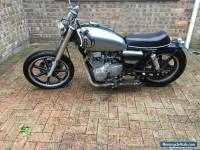 Yamaha XS 250 motorbike chopper bobber custom cafe racer Hugo Boss