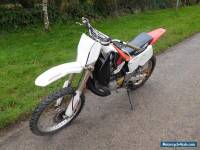 HONDA CR250 2 STROKE MOTORCROSS BIKE