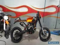 custom ktm cafe racer motard race show bike not bobber harley Kawasaki honda nr