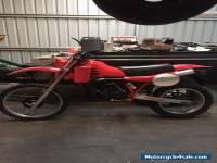 1982 Honda cr 250 vmx