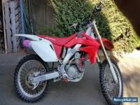 Honda CRF250R motorbike