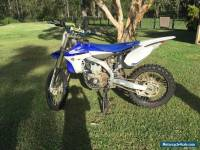 Yamaha yz450 2013