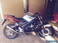 Honda CBR 125 motorbike
