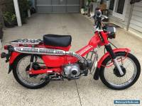 2011 Honda CT 110 Postie Bike