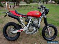 Cafe Racer, Naked, Motard Honda XR400