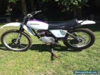 1980 HONDA XL 250