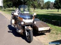 HONDA GOLDWING ANNIVERSARY GL1500 SIDECAR OUTFIT