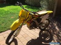 Suzuki 2009 RMZ  250 motorcross bike