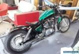 Yamaha XV 250 Bobber for Sale