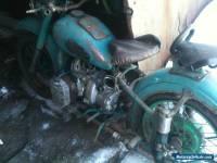 1940 Ural 2 Motorcycle and sidecar Ural M 72