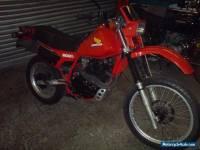 1985 HONDA XL600R