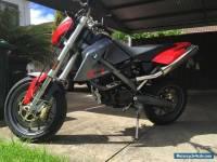BMW 650 Xmoto Red 2008 Motorbike