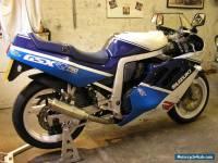 1988 SUZUKI gsxr750 slingshot  WHITE/BLUE original cond no reserve uk bike