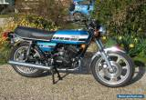 Yamaha RD400C RD400 - Totally Restored, Matching Numbers, Marine Blue for Sale