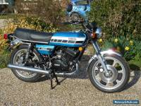 Yamaha RD400C RD400 - Totally Restored, Matching Numbers, Marine Blue
