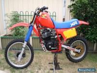 Honda 84 XR500 RE