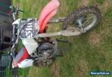 Dirt bike Honda cr80 2002 for Sale