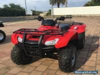 Honda TRX420FPA 2013