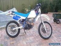 1987 xr250 No Reserve