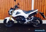 Honda MSX 125 Grom - White 2014 - 1000 Miles - FSH for Sale