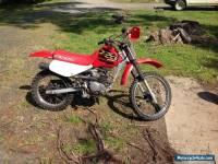 Honda xr 100cc motorbike 2001 model not Yamaha suzuki