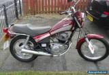yamaha sr 125 custom ,full mot ready for summer, learner or commuter ready for Sale