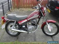 yamaha sr 125 custom ,full mot ready for summer, learner or commuter ready
