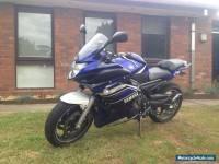 Motorbike Yamaha fz6r road bike