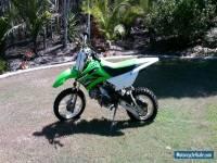 Kawasaki KLX 110 Motorcross trail bike