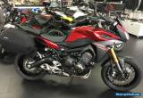 Yamaha MT09 Tracer 15 Reg low miles ABS,Genuine panniers motorcycle for Sale
