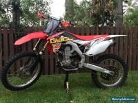 HONDA CRF450R 2013
