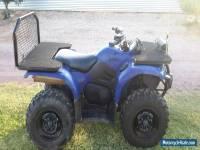 Yamaha grizzly 450 quad bike