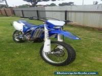 Yamaha WR450F motor bike