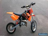 KTM 50 SX ADVENTURE BIKE - 2007  (SLOWER) AIR COOLED PERFECT CONDITION