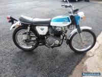 HONDA CL350 1968 MATCHING NUMBERS SURVIVOR 1505 ORIGINAL MILES ONLY