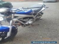 2003 SUZUKI GS500K2 BLUE,mot'd until oct 2016,needs work, project spares repairs