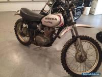 Honda: MOTOSPORT XL250