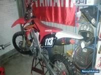 Honda CRF 250 motorcycle 2011
