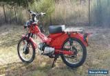 Honda CT110 Postie Bike 2000 for Sale