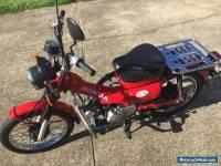 Honda 2011 ct110 postie bike