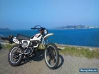 Yamaha XT500 classic twinshock motorcycle