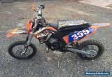 KTM 65sx 2010. ex Factory Race bike for Sale
