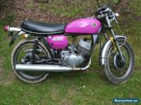 Suzuki T250 Hustler- Classic 70's bike