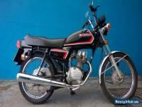 1985 HONDA CG125BR BLACK