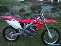 2008 Honda CRF450R Motorbike