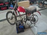 honda SL/ XR 100 motorcycle