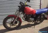 SUZUKI GS 125 ES (1987) SALVAGE PROJECT - SPAIRS OR REPAIRS for Sale