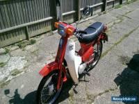 honda c50 automatic 1986