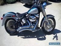 Harley Fatboy Softail 2001