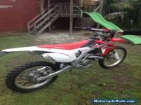 2015 HONDA CRF 450R